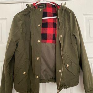 Olive Forever21 Jacket